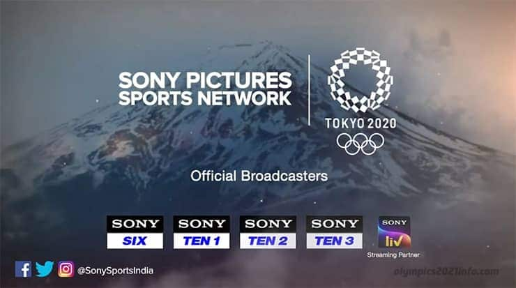 Watch Olympics 2021 live online in India
