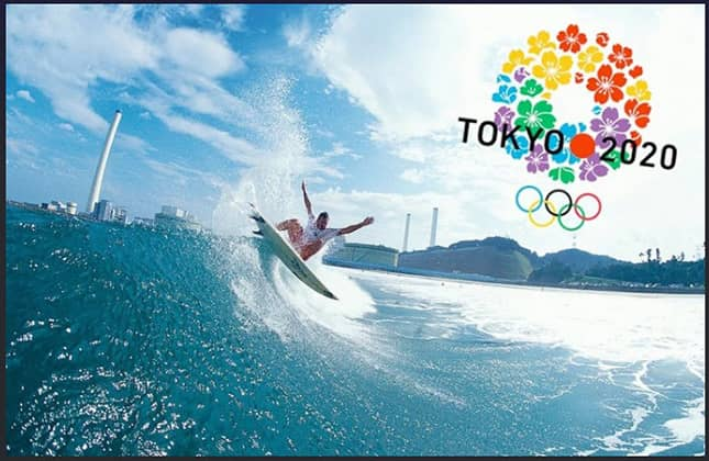 2021 Olympic Surfing